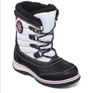 Totes girls waterproof boots size 3 haddie
